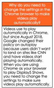Chrome video auto-play