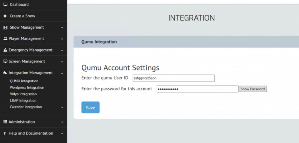 Qumu digital signage
